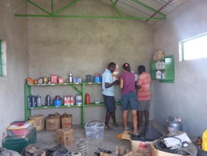 Interior gasolinera